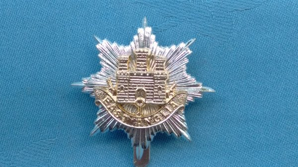 The East Anglian Brigade cap badge.