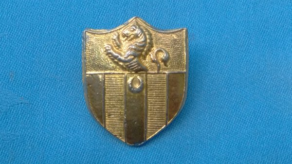 The Sir Roger Manwoods School Officer Training Corp cap badge.