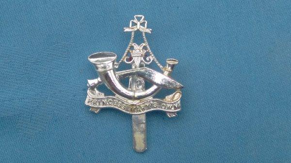 The Princess own 10th Gurhka Rifles cap badge.