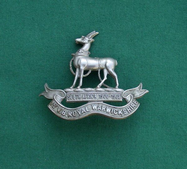 1st Volunteer Battalion, Royal Warwickshire Regt