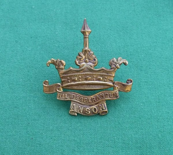 WW1 Royal Naval Division Anson Battalion - Gaunt Plate