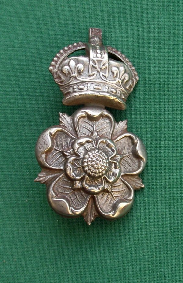 Scarce The Yorkshire Dragoons, SNCO Sleeve Badge