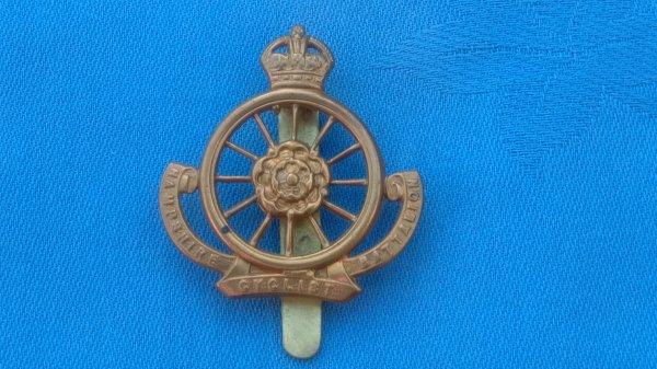 The 9th ( Cyclists ) Battalion.The Hampshire Regiment cap badge.