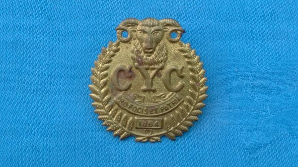 The 1st Canterbury Yeomanry Cavalry Squadron cap badge