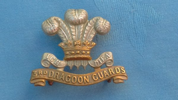 The 3rd Dragoon Guards cap badge