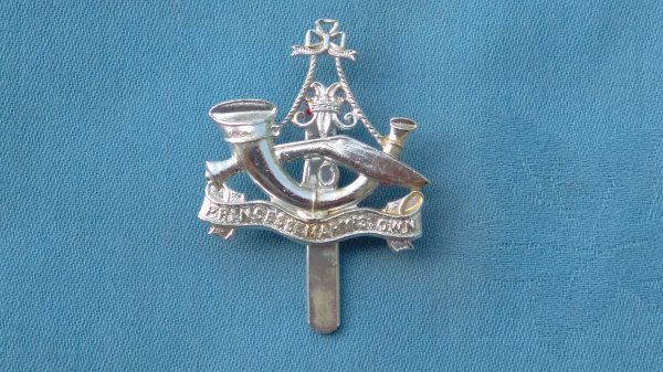 The 10th Gurkha Rifles ( Princess Mary ) own cap badge.