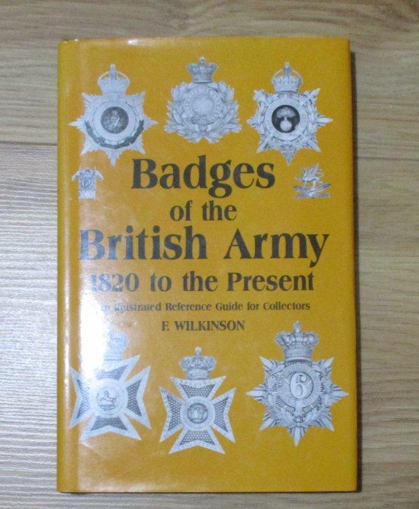 Book, British Army CAP badges