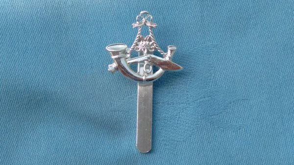 The 10th Gurkha Rifles ( Princess Mary ) cap badge.