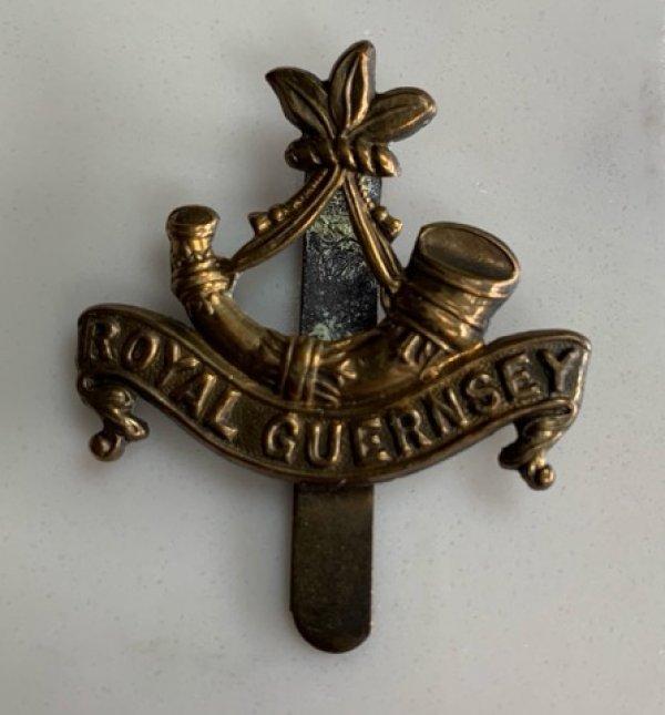Original Royal Guernsey Light Infantry Cap Badge