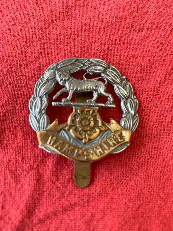 WW1 Hampshire Regiment