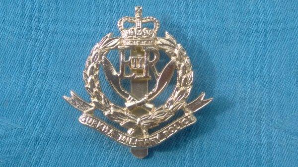 The Gurkha Military Police cap badge.