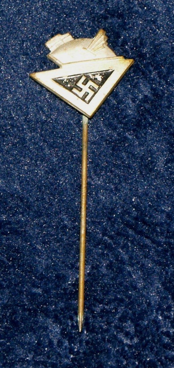 WW2 German culture society membership stickpin