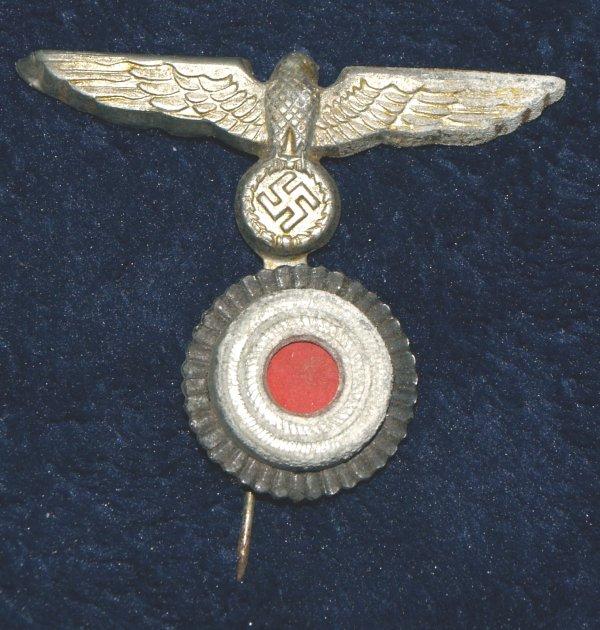 WW2 German Navy Cap Eagle & Cockade Pin