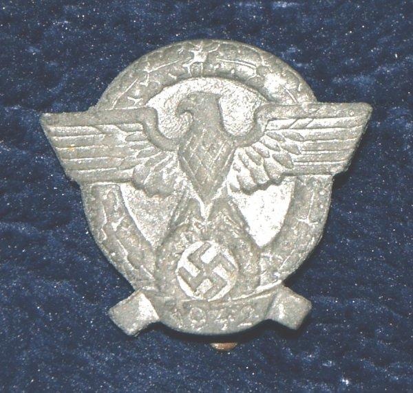 WW2 German Police Tinnie (1942)