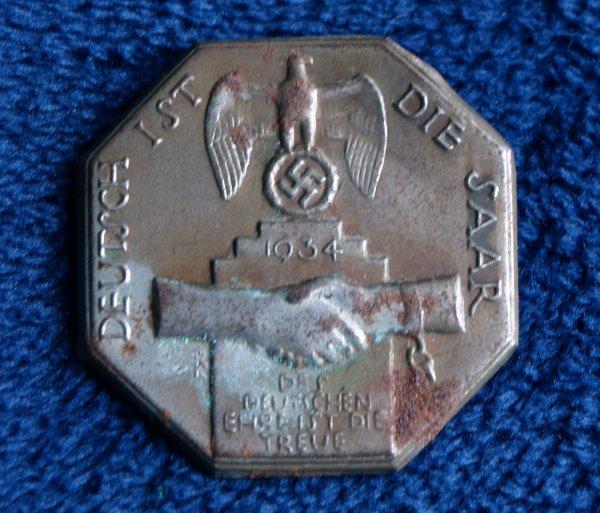 German Tinnie badge (SAAR)