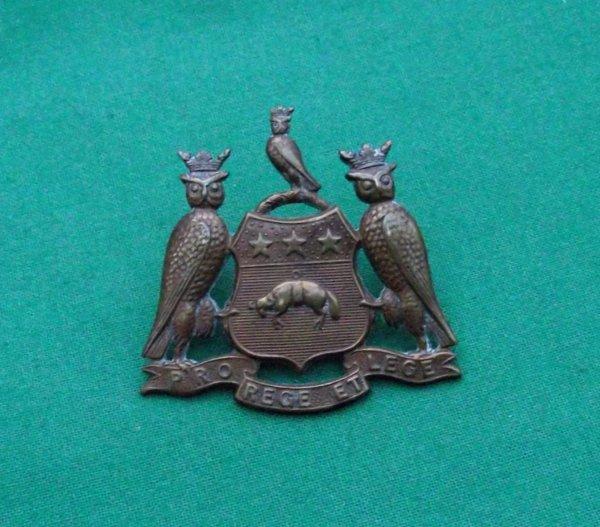 Genuine Leeds Pals Cap Badge