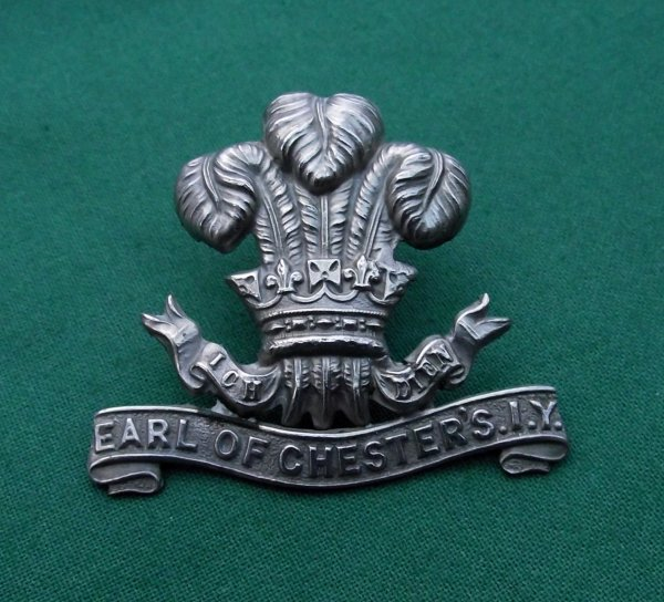 Scarce The Earl of Chester's Imperial Yeomanry Cap Badge.