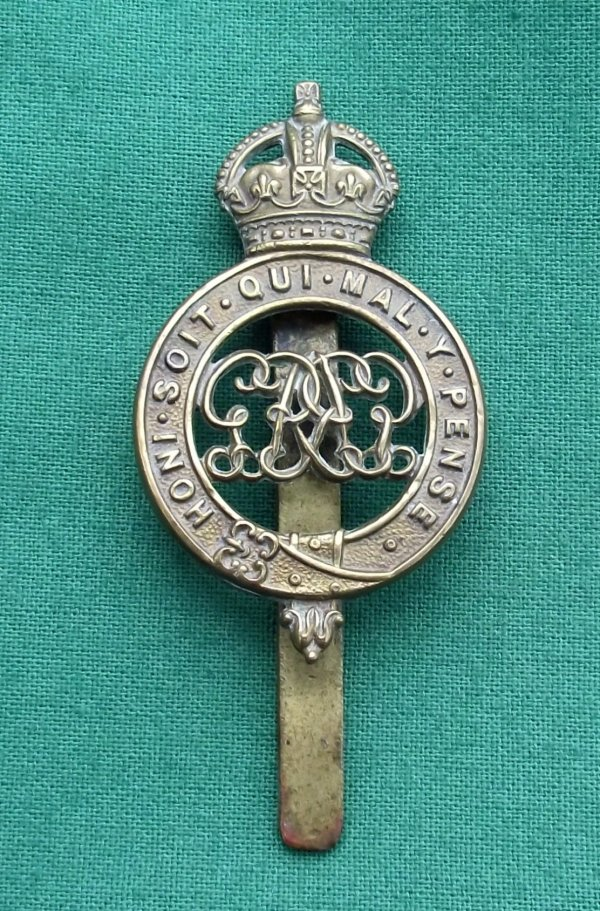 Genuine Grenadier Guards Pagri Badge, KC GvR