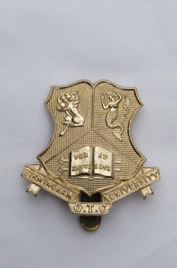 Birmingham OTC cap badge