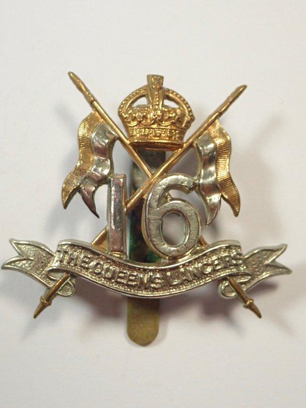16th The Queens Lancers original Cap Badge.