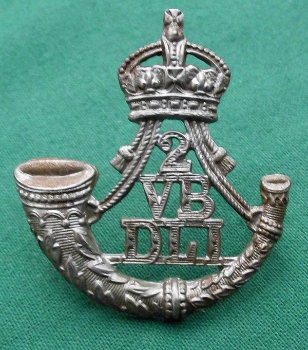 Rare 2nd Volunteer Bn (Bishop Auckland) The Durham Light Infantry