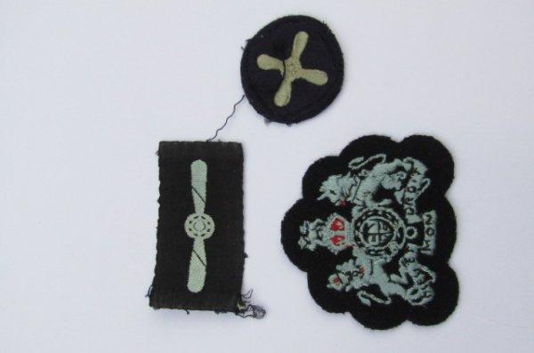 RAF cloth badges pre 1952