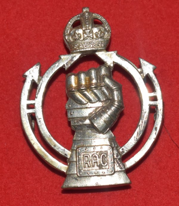 Royal Armoured Corps Officer's Cap Badge