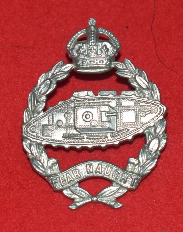 Royal Tank Corps OR's Scarce Cap Badge