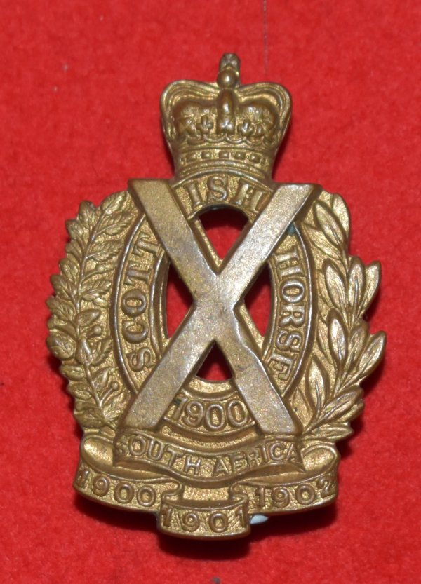 Scottish Horse Imperial Yeomanry OR's Cap Badge
