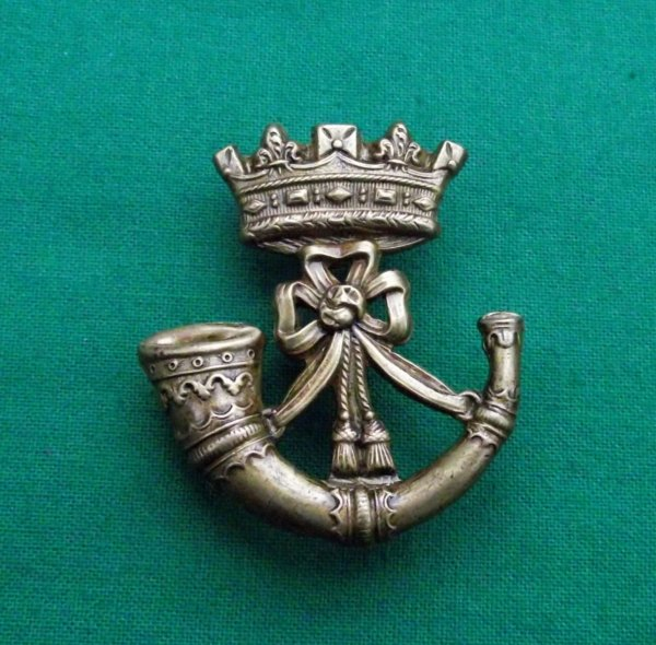 Rare Victorian Cornwall Light Infantry Cap Badge