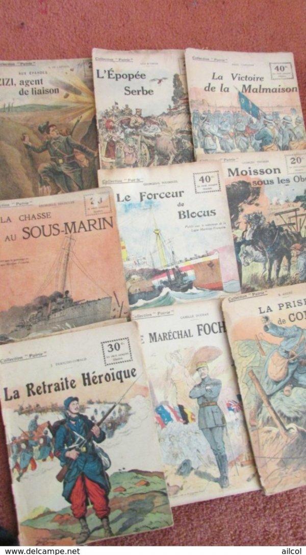 24 WW1 French Magazines Patrie