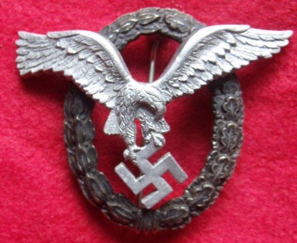Replica German Pilots Badge (Luftwaffe)