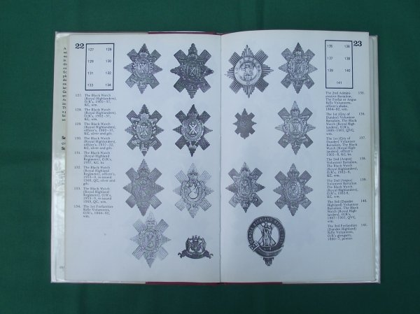 Scottish Regimental Badges 1793-1971 - Bloomer