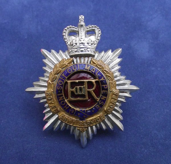 Royal Army Service Corps - post 1950's officers cap badge