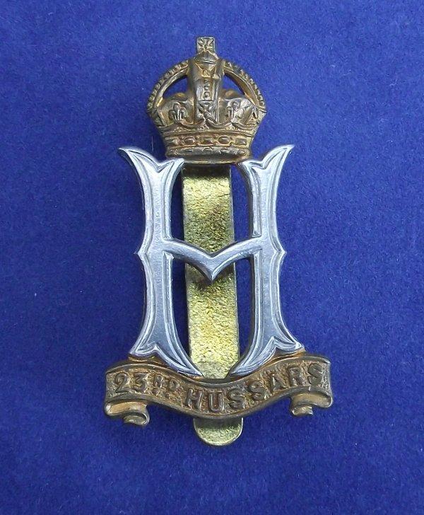 23rd Hussars Cap Badge