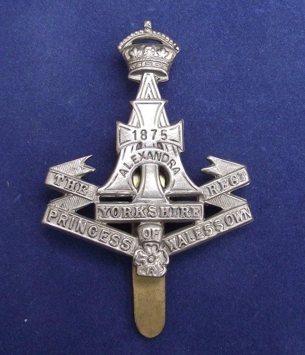 The Yorkshire Regiment Cap Badge