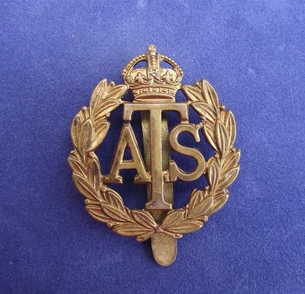 Auxiliary Territorial Service Cap Badge