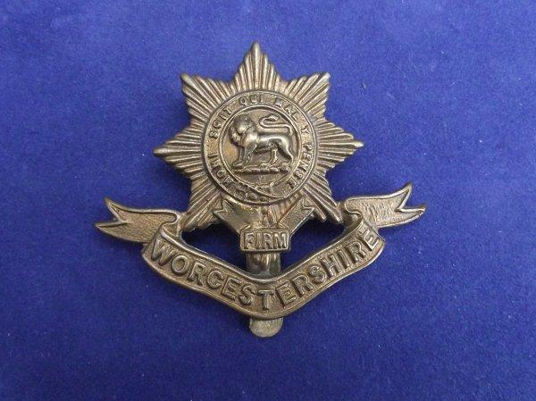 WW1 Worcestershire Regiment Cap Badge