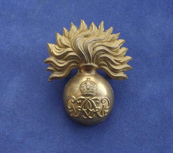Genuine Grenadier Guards George 6th Sergeants Cap Badge
