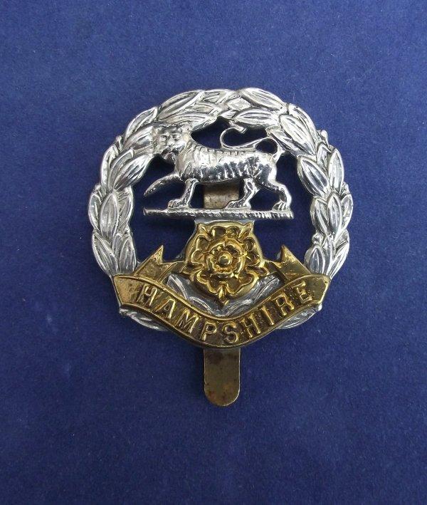 Hampshire Regiment Cap Badge
