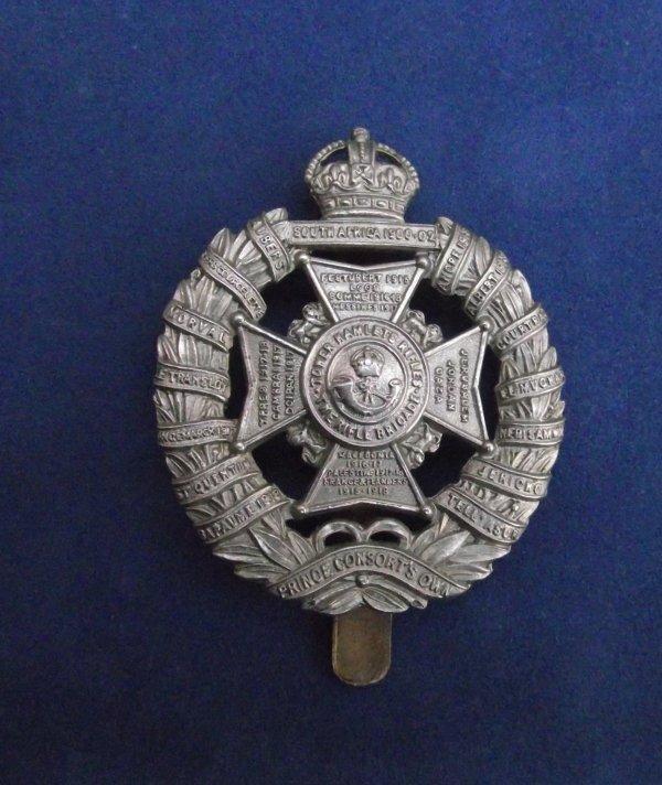 Genuine Tower Hamlets Rifles Cap Badge