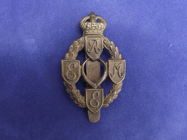 Royal Electrical & Mechanical Engineers Cap Badge