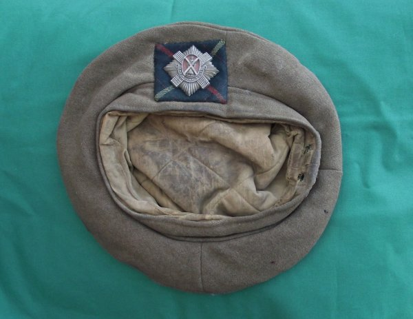 WW2 Royal Scots TOS with Plastic Economy Badge