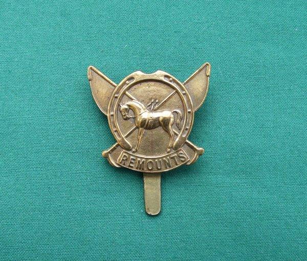 Army Remount Service Genuine Cap Badge