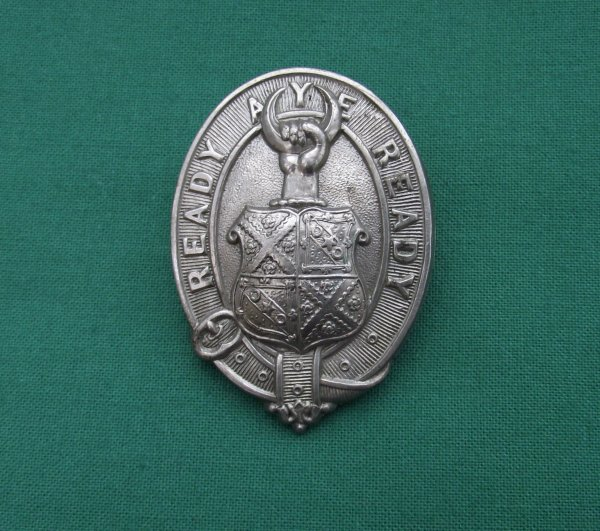 Merchiston Castle School OTC Cap Badge