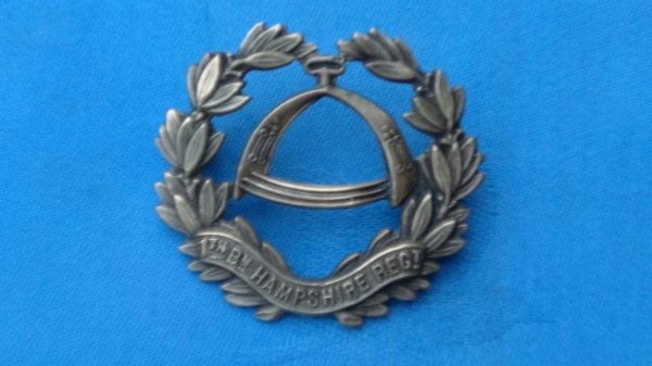7th Battalion Hampshire Regiment.