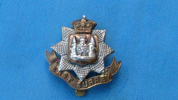 East Surrey Regiment.