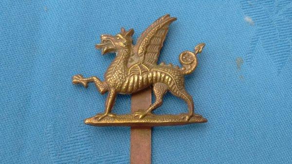 2nd Battalion Monmouthshire Regiment.