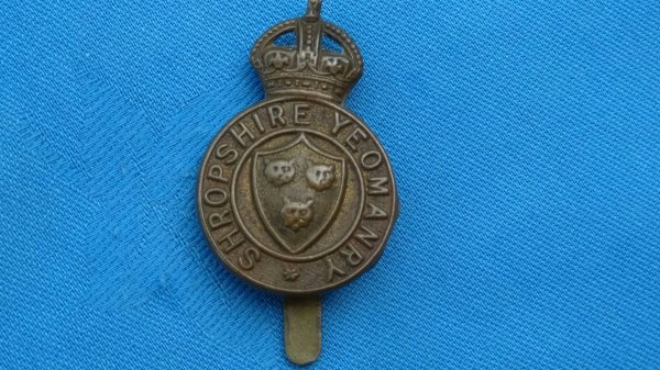Shropshire Yeomanry.