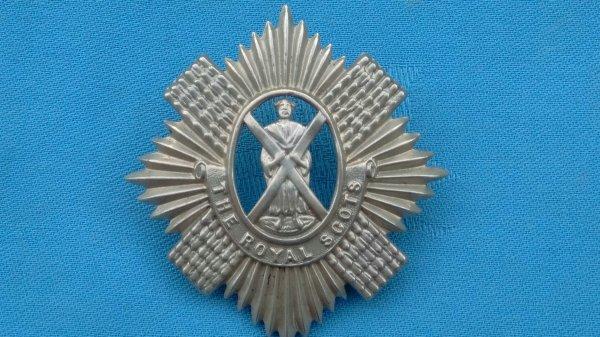 Royal Scots Volunteers Glengarry.